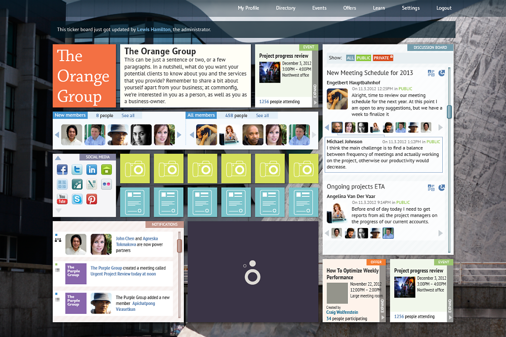 community-project-Group-landing-page-logged-in.png